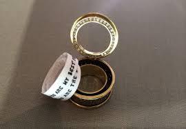 r2d2 wedding ring 4 secret message rings