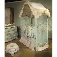 Enchanted Convertible Crib Enchanted Seaside Canopy Crib And Nursery Necessities In Interior