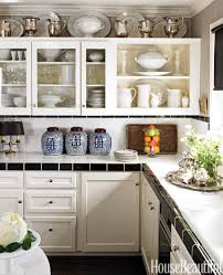 Above Kitchen Cabinets Ideas Trend How To Decorate Above Kitchen Cabinets 24 For Your Home