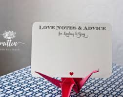 Wishes For The Bride And Groom Cards Wish Cards Etsy