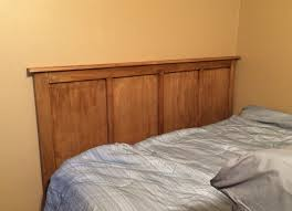 Queen Headboard Diy by Diy Simple Queen Headboard Wilker Do U0027s