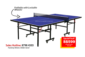 What Are The Dimensions Of A Ping Pong Table by Singapore Leading Table Tennis Factory Outlet