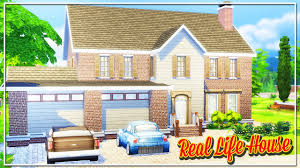 build my house the sims 4 build my real life house youtube