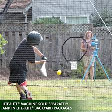 jugs sports lite flite small ball batting cage net