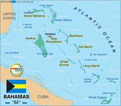 bahamas on map map of bahamas the map in the atlas of the atlas
