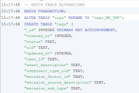 Sql Change Table Name How Do I Rename A Column In A Sqlite Database Table Stack Overflow