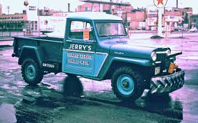 jeep old truck five fun 1950s and 1960s friday kodachrome car images the old motor