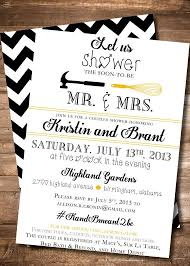 couples bridal shower his and wedding shower invitations couples bridal shower