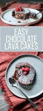 easy chocolate lava cakes for 2 bakerita
