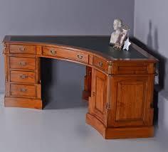 Schreibtisch Antik Eckschreibtisch Mahagoni Schreibtisch Corner Desk Schreibeinlage