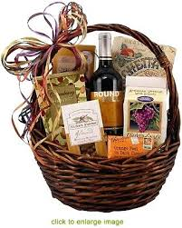 Gourmet Cheese Baskets Spool And Spoon All Of Your Firsts Wine Gift Basket With Tags