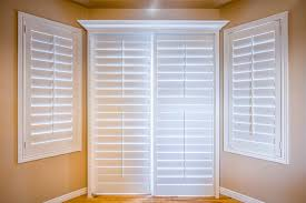 Bypass Shutters For Patio Doors Modern Plantation Shutters For Sliding Glass Doors Regarding 2016