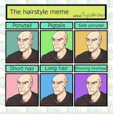 Meme Hairstyles - hairstyle meme picardo by rottendeadpan on deviantart