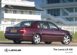 lexus ls 430 review uk ls archive toyota uk media site