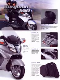 suzuki burgman 650 brochures u0026 adverts
