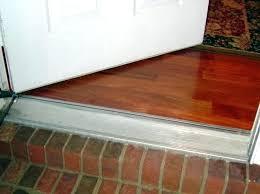 Replacing An Exterior Door Threshold Exterior Door Threshold Door Threshold Installation Concrete Entry