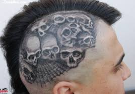 skulls n spider web head tattoo design tattoos book 65 000