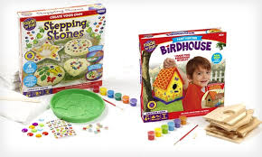 kid craft kits 11 99 for a made by me kids craft kit groupon