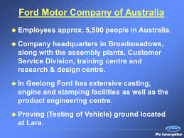 ford motor company human resources human resources at ford ppt