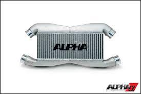 nissan gtr used houston alpha performance r35 gt r front mount intercooler the shop houston