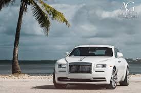 rolls royce white ag luxury wheels rolls royce wraith forged wheels