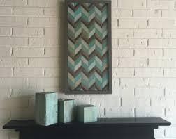 chevron wood wall chevron wood etsy