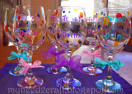 wine glass gift myneed2craft by deavers wine glass gift ideas for teachers