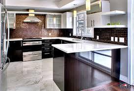cuisine contemporaine réalisations design maison laprise maisons pré usinées