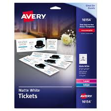 ave16154 printable tickets by avery ontimesupplies com