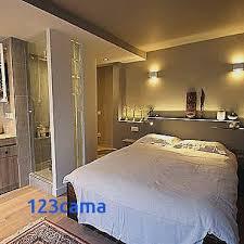 chambre avec salle d eau chambre parentale avec salle de bain et dressing pour deco salle