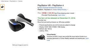 amazon black friday 2016 date ps4 playstation vr headset uk price revealed on amazon tech life