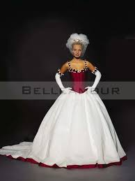 robe de mari e bicolore de mariée blanche bicolore satin ballon bretelles satin
