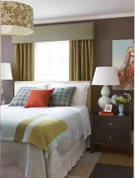 appealing design ideas of black white bedroom with color wrought