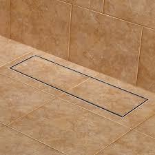 cohen wide linear shower drain bathroom