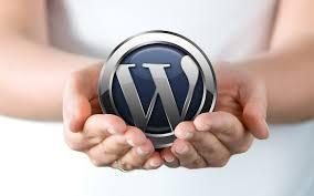 the blog setup wordpress