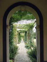 English Garden Pergola by West Dean Gardens
