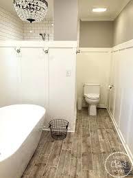 wood tile bathroom u2013 homefield