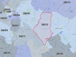 Zip Code Map Okc Charlotte Nc U0027s