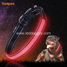 Nylon Usb Rechargeable Led Glow Dog Collar China Manufacturer