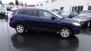 mazda suv range 2011 mazda cx 9 stormy blue mica stock 13650p walk around