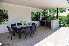 cuisine d été couverte créer terrasse d ete couverte