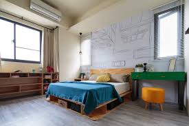 Kitsch Bedroom Furniture Aviation Inspiration And Superhero Dreams In A Quirky Tainan Home