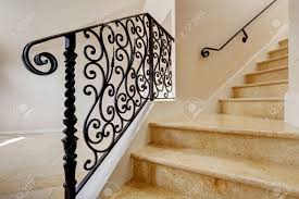 Wrought Iron Banister Wrought Iron Railings Stock Photos Royalty Free Wrought Iron