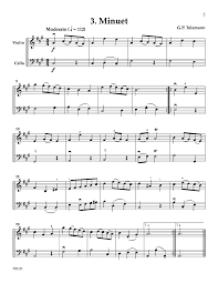 15 duets for violin and cello duet j w pepper sheet