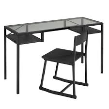 office office desk and chair set sleek and compact design tempered