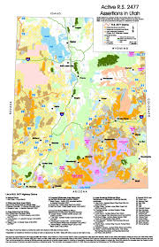 Draper Utah Map by Utah Wilderness Maps
