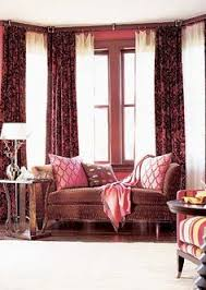Expensive Curtain Rods Great Idea To Hang Curtains In A Bay Window Without Expensive