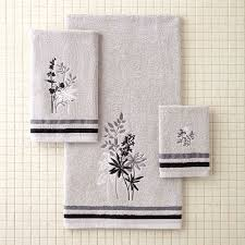 better homes and gardens tranquil leaves decorative bath towel