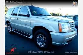 cadillac 2004 escalade used 2004 cadillac escalade for sale pricing features edmunds