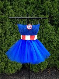 captain america inspired tutu dress via etsy n e r d o m